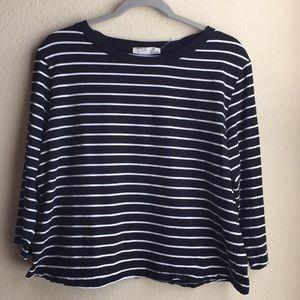 Zara Collection Basic Black/White T/Shirt.